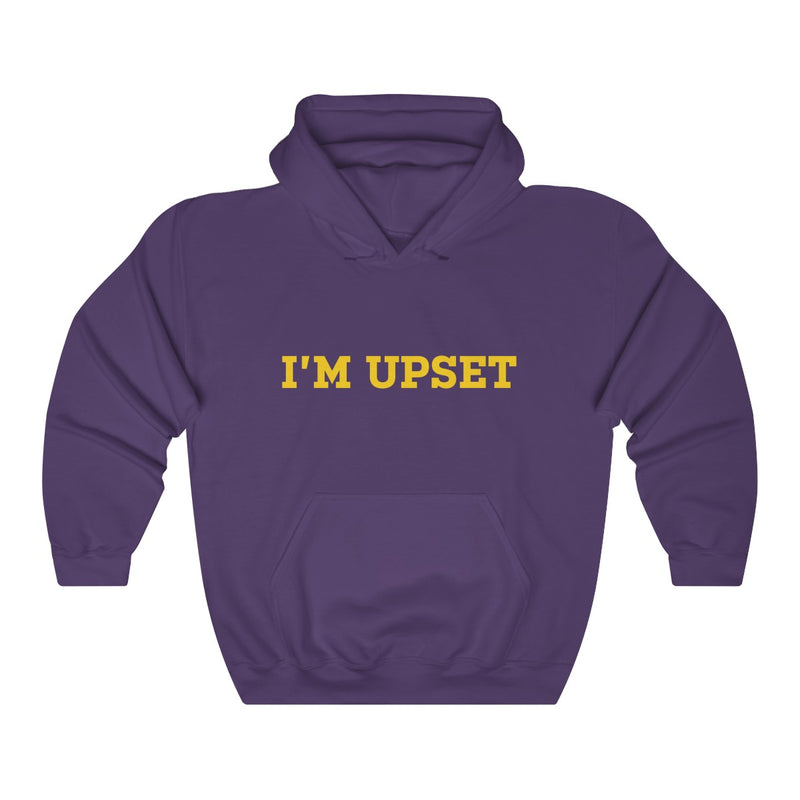 I'm Upset Drizzy Drake Scorpion Inspired Heavy Blend™ Hoodie-Purple-S-Archethype