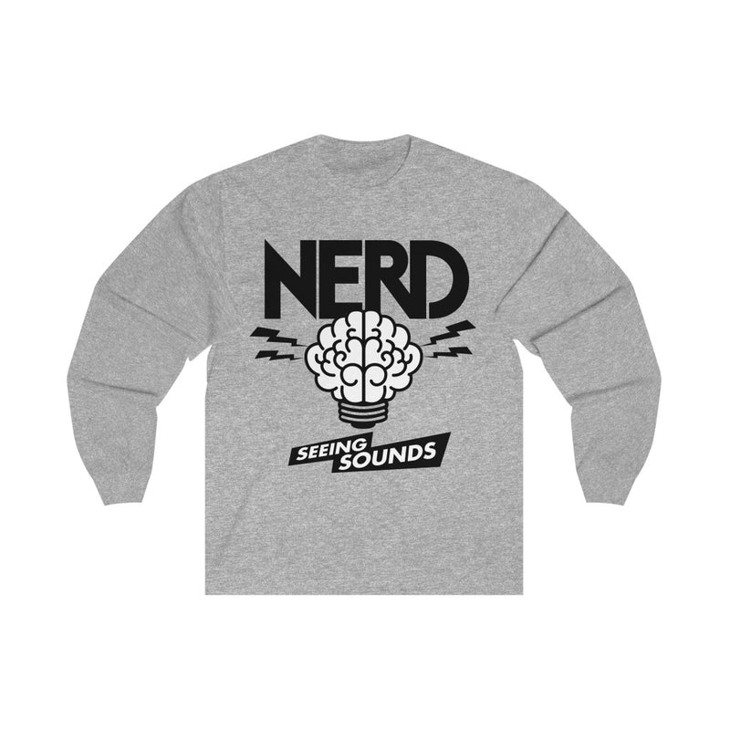 NERD Seeing Sounds Inspired Unisex Long Sleeve Tee T-Shirt - Pharrell Williams Chad Hugo Shay Haley N*E*R*D-Athletic Heather-S-Archethype