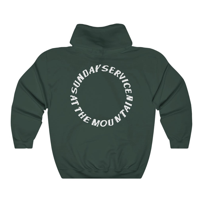 Sunday service at the Mountain Kanye West Hoodie-Archethype