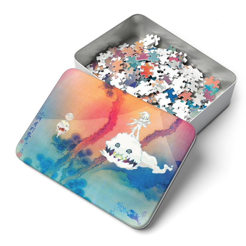 "Kids See Ghosts 252 Piece Puzzle - Kid Cudi Kids See Ghosts inspired-14"" x 11""-Archethype"