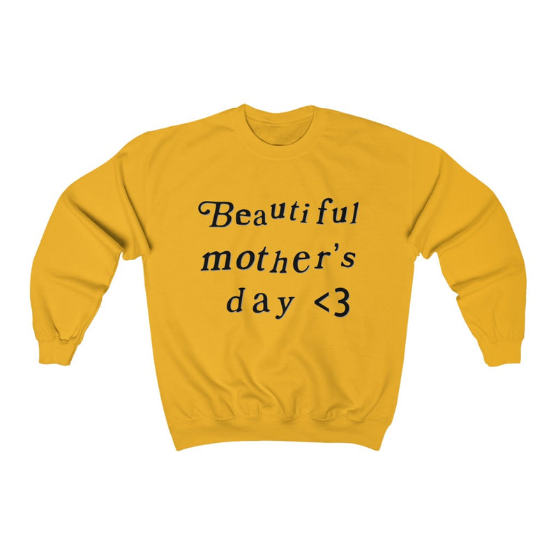 Mother's Day Kanye West Kids See Ghosts Inspired Crewneck Sweatshirt Merch-Gold-S-Archethype