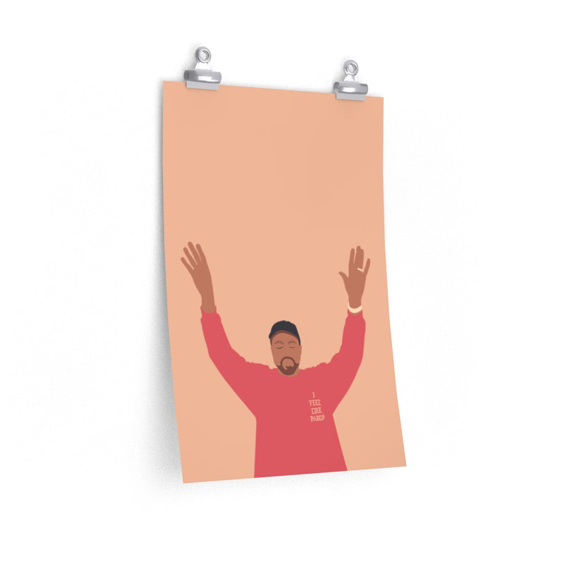 Kanye West I Feel Like Pablo Premium Matte vertical posters - The Life of Pablo TLOP tour merch inspired-12″ × 18″-CG Matt-Archethype