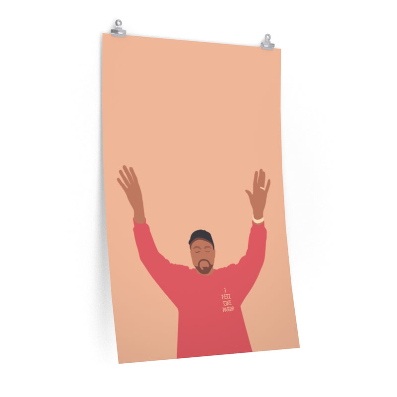 Kanye West I Feel Like Pablo Premium Matte vertical posters - The Life of Pablo TLOP tour merch inspired-24″ × 36″-CG Matt-Archethype