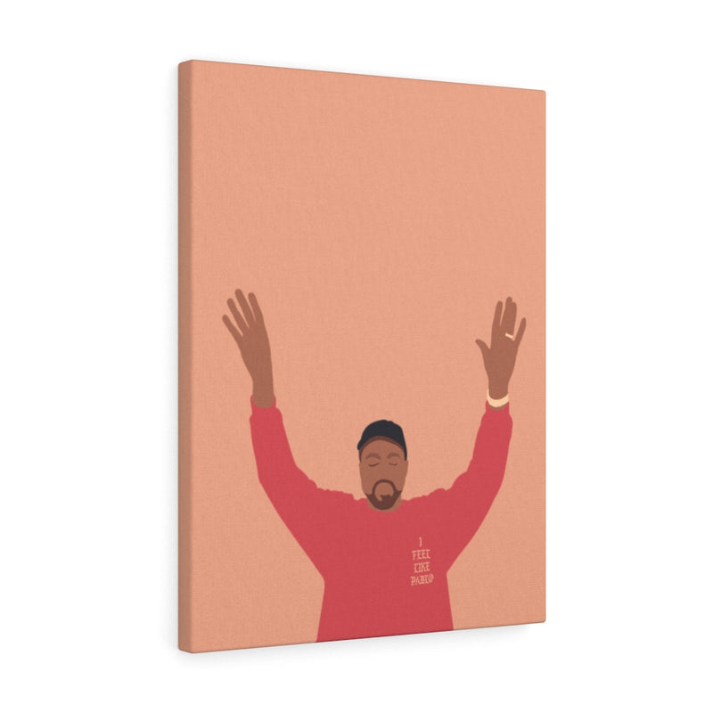 Kanye West I Feel Like Pablo Canvas Gallery Wraps - The Life of Pablo TLOP tour merch inspired-18″ × 24″-Premium Gallery Wraps (1.25″)-Archethype