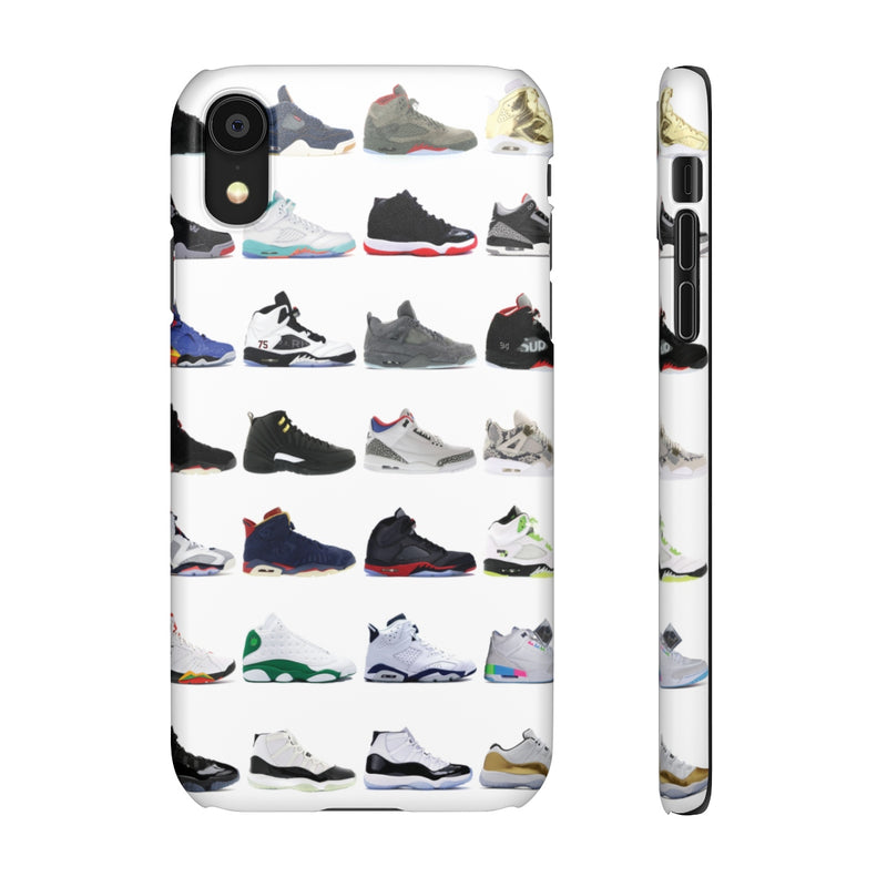 Jordan Sneakers inspired iPhone Snap Case-iPhone XR-Matte-Archethype