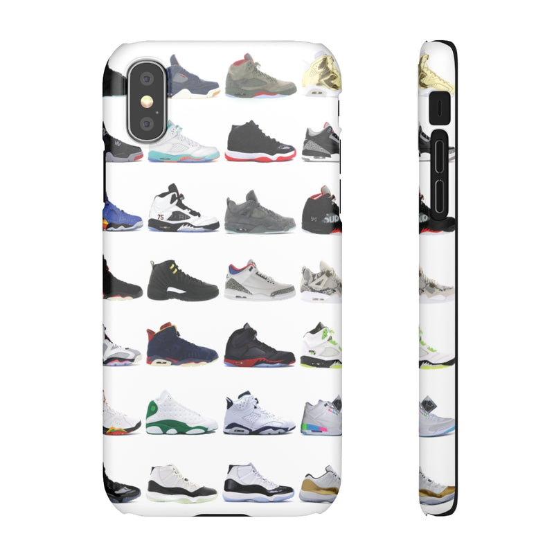 Jordan Sneakers inspired iPhone Snap Case-iPhone XS-Matte-Archethype