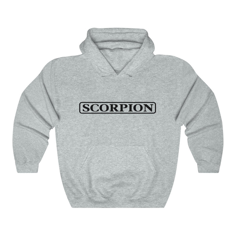 Scorpion Drizzy Drake Scary Hours Merch Inspired Heavy Blend™ Hoodie-Ash-S-Archethype