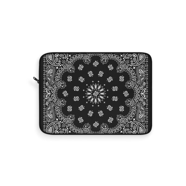 "Black Bandana Laptop Sleeve-13""-Archethype"
