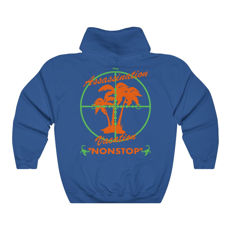 Assassination Vacation Tour Drake merch inspired - Unisex Heavy Blend™ Hooded Sweatshirt-Royal-S-Archethype