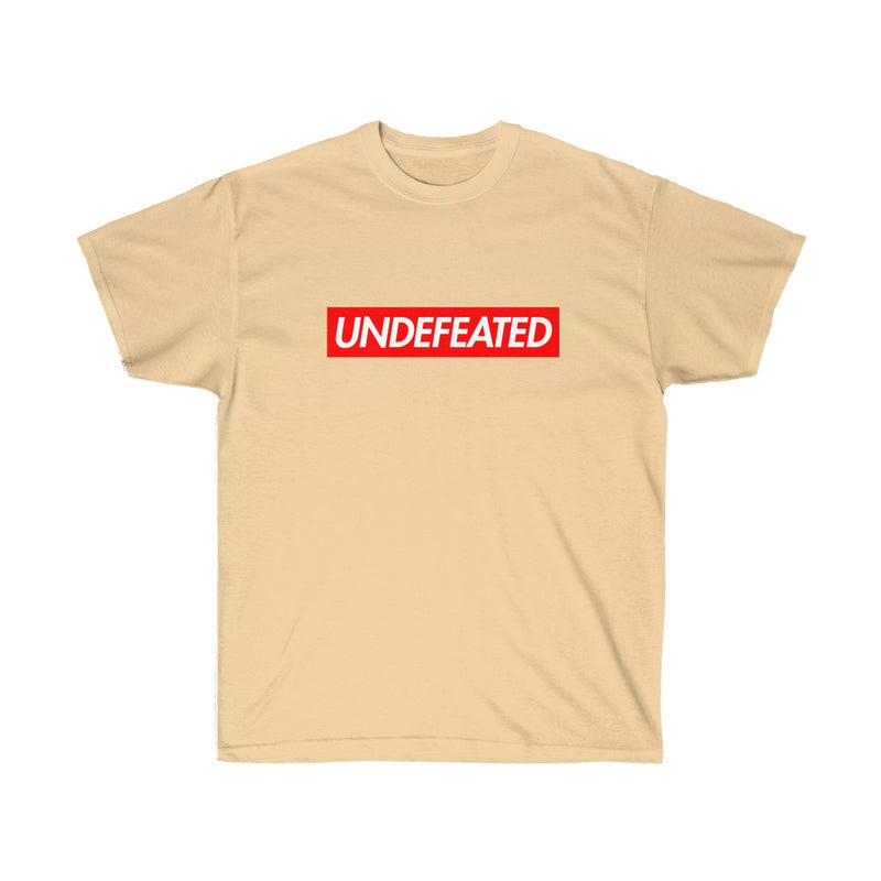 Undefeated Red Box Logo Tee-Vegas Gold-S-Archethype