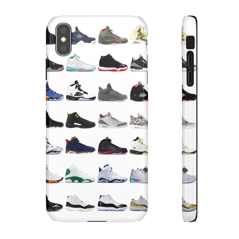 Jordan Sneakers inspired iPhone Snap Case-iPhone XS MAX-Glossy-Archethype