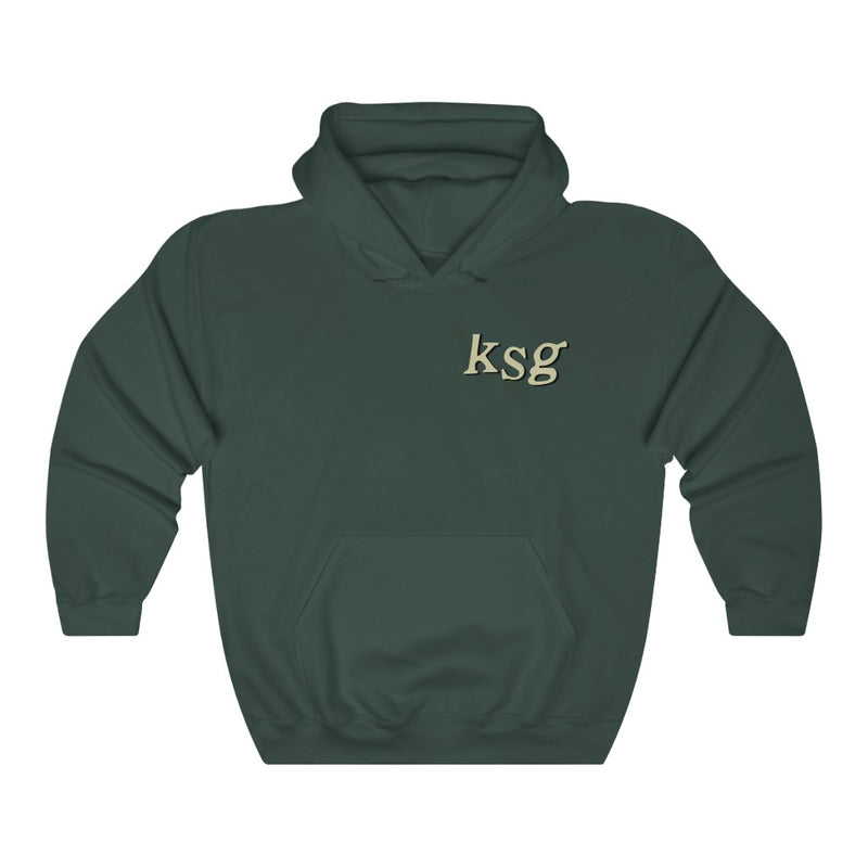 KSG Hoodie - Kid Cudi Kids See Ghosts Inspired-S-Forest Green-Archethype