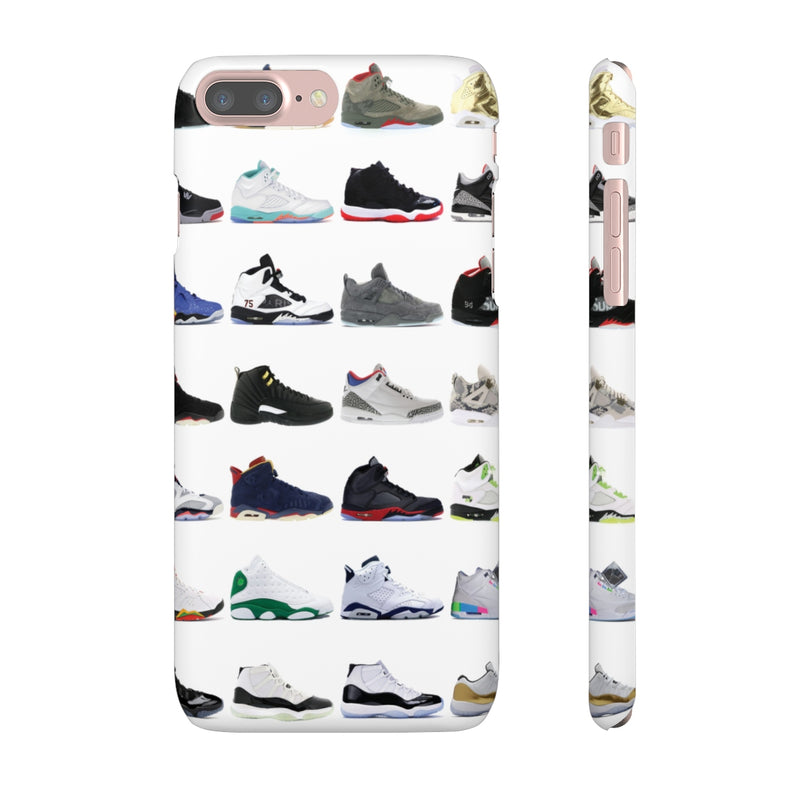 Jordan Sneakers inspired iPhone Snap Case-iPhone 7 Plus-Matte-Archethype