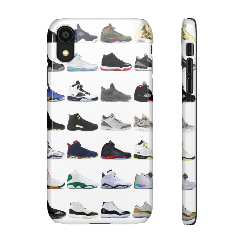 Jordan Sneakers inspired iPhone Snap Case-iPhone XR-Glossy-Archethype