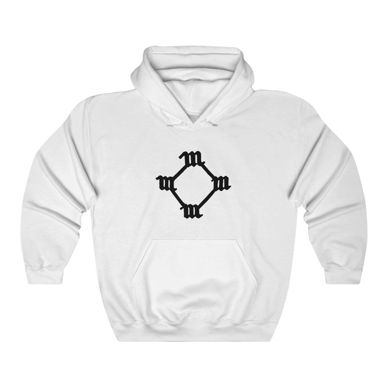 Four M Kanye West Tattoo Hoodie-L-White-Archethype