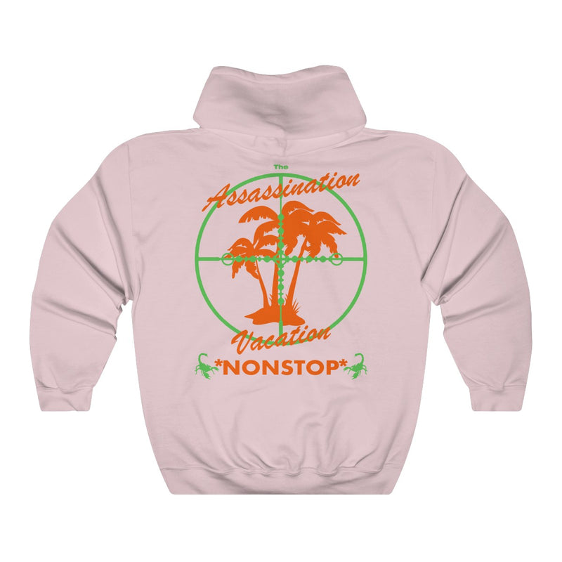 Assassination Vacation Tour Drake merch inspired - Unisex Heavy Blend™ Hooded Sweatshirt-Light Pink-S-Archethype
