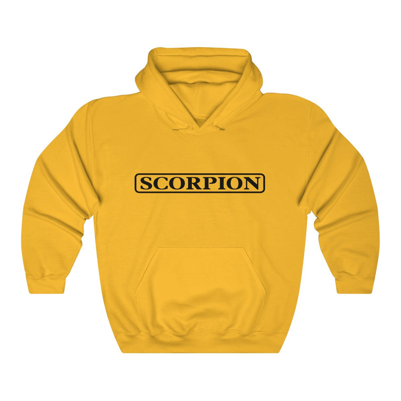 Scorpion Drizzy Drake Scary Hours Merch Inspired Heavy Blend™ Hoodie-Gold-S-Archethype
