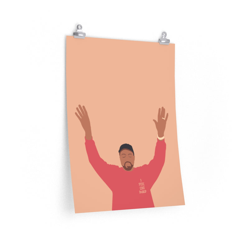 Kanye West I Feel Like Pablo Premium Matte vertical posters - The Life of Pablo TLOP tour merch inspired-18″ × 24″-CG Matt-Archethype