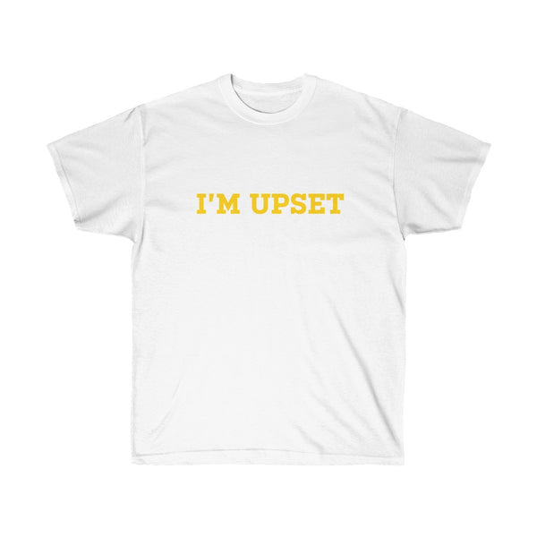 I'm Upset Tee - Drizzy Drake Scorpion inspired-White-L-Archethype