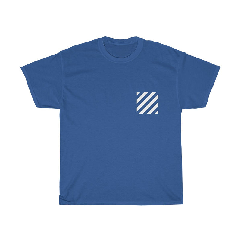 Dope Off-White Virgil Abloh c/o Inspired Tee-Royal-S-Archethype