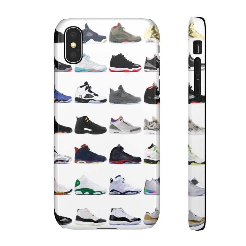 Jordan Sneakers inspired iPhone Snap Case-iPhone X-Glossy-Archethype