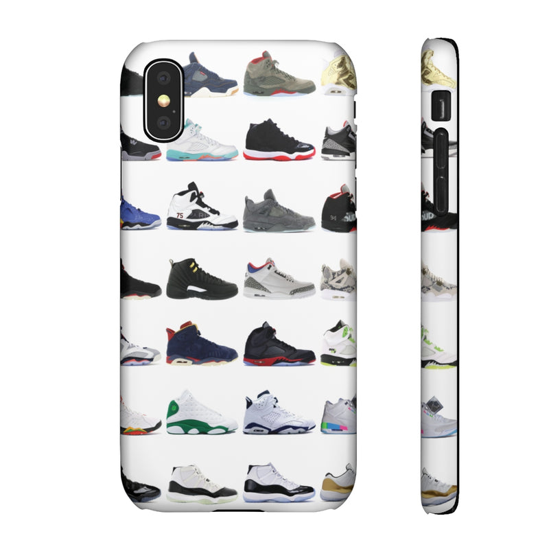 Jordan Sneakers inspired iPhone Snap Case-iPhone X-Matte-Archethype