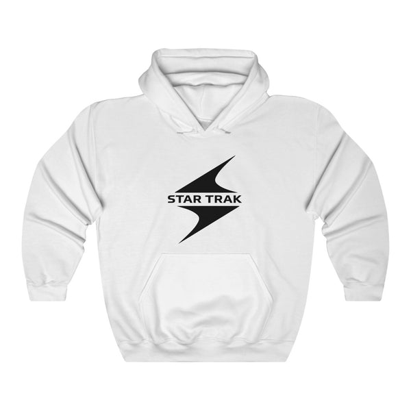 Star Trak inspired Unisex Heavy Blend Hooded Sweatshirt - Pharrell Williams the Neptunes inspired-White-S-Archethype