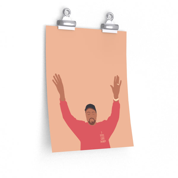 Kanye West I Feel Like Pablo Premium Matte vertical posters - The Life of Pablo TLOP tour merch inspired-9'' x 11''-CG Matt-Archethype