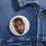 Kanye West Meme Face Pin Buttons-Archethype