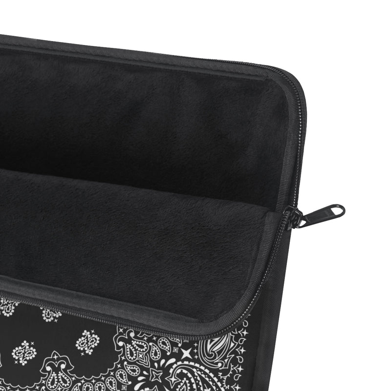 Black Bandana Laptop Sleeve-Archethype