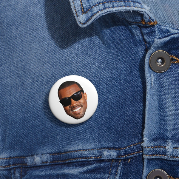 "Kanye West Meme Face Funny face Pin Buttons-1""-Archethype"