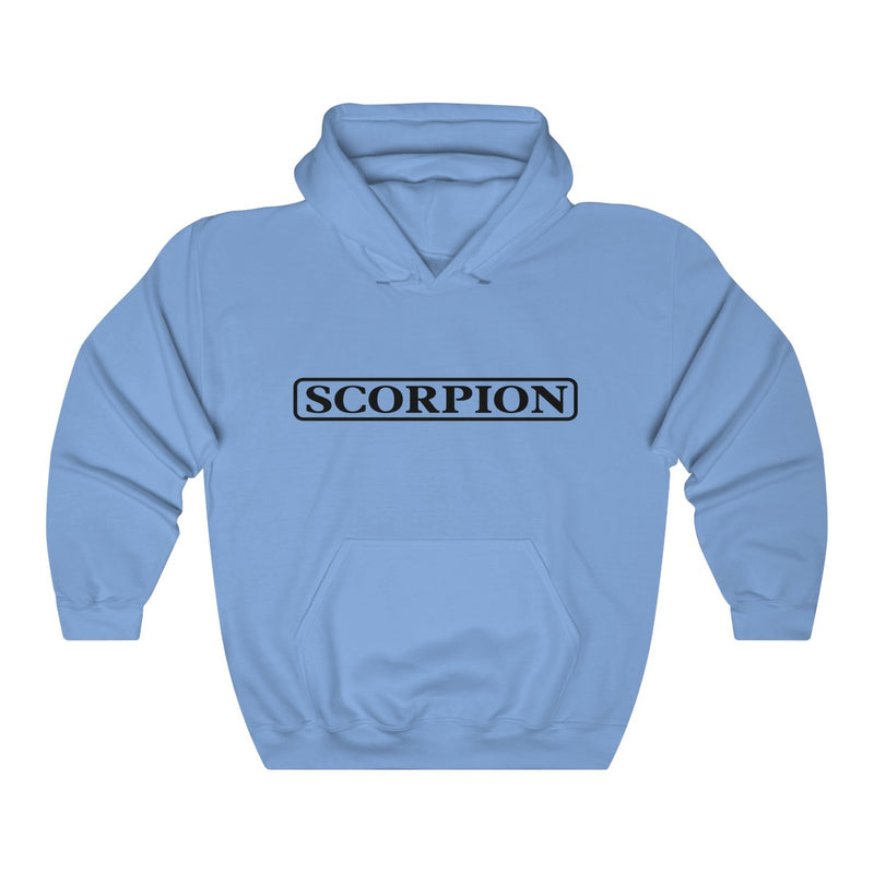 Scorpion Drizzy Drake Scary Hours Merch Inspired Heavy Blend™ Hoodie-Carolina Blue-S-Archethype