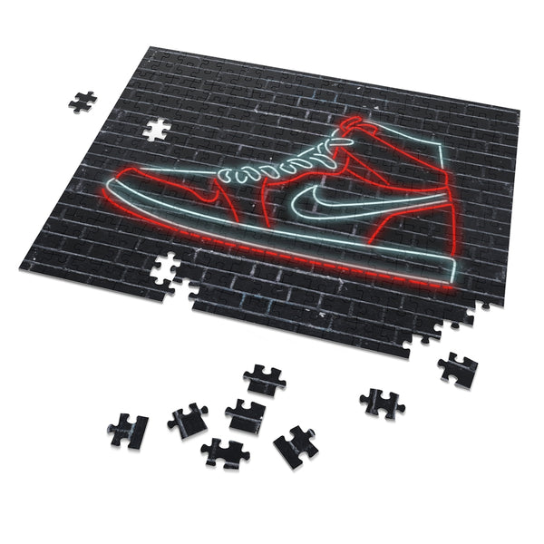 "Sneakers Addict 252 Piece Puzzle-14"" x 11""-Archethype"