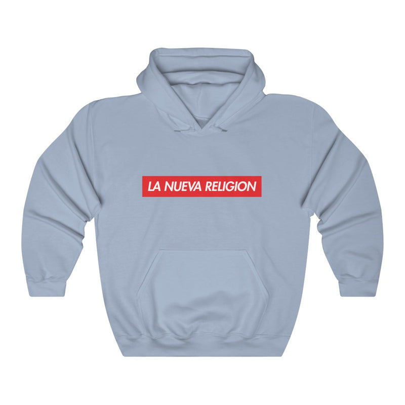 La Nueva Religion Bad Bunny MIA Hoodie-Light Blue-S-Archethype