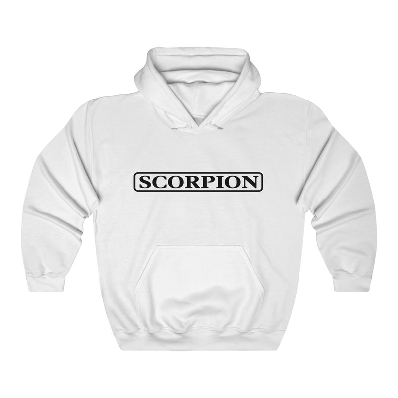 Scorpion Drizzy Drake Scary Hours Merch Inspired Heavy Blend™ Hoodie-White-L-Archethype