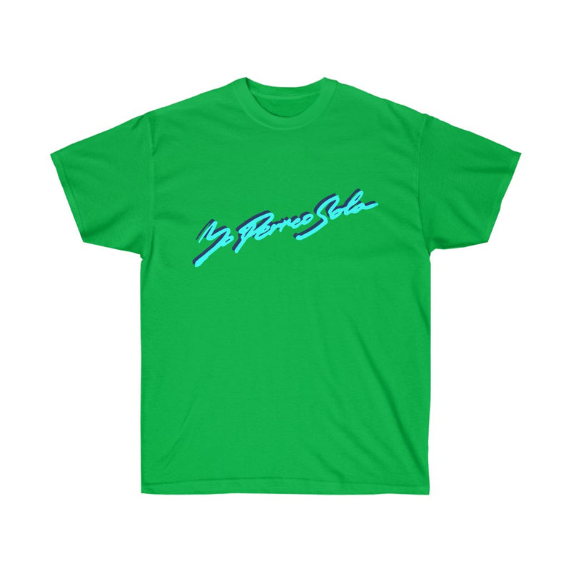 Yo Perreo Sola Unisex T-Shirt. Bad Bunny inspired-Irish Green-S-Archethype