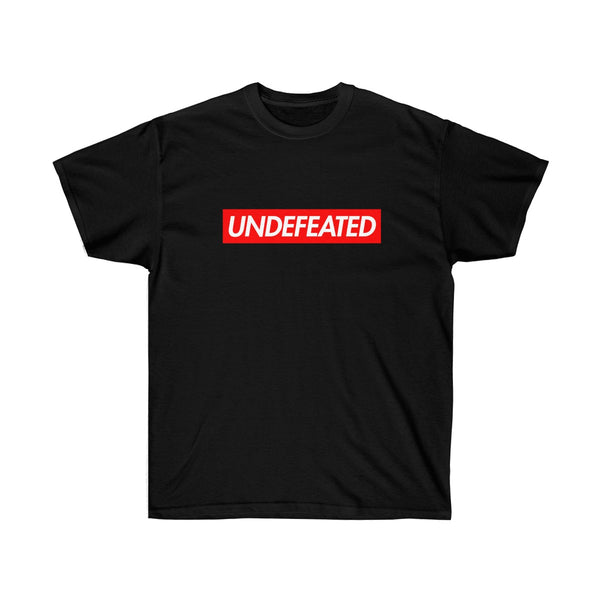 Undefeated Red Box Logo Tee-Black-S-Archethype