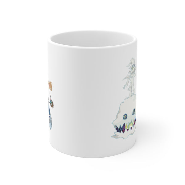 Kids See Ghosts Graduation Kanye West Mug-Archethype