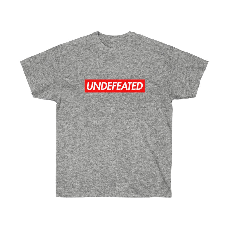 Undefeated Red Box Logo Tee-Sport Grey-S-Archethype