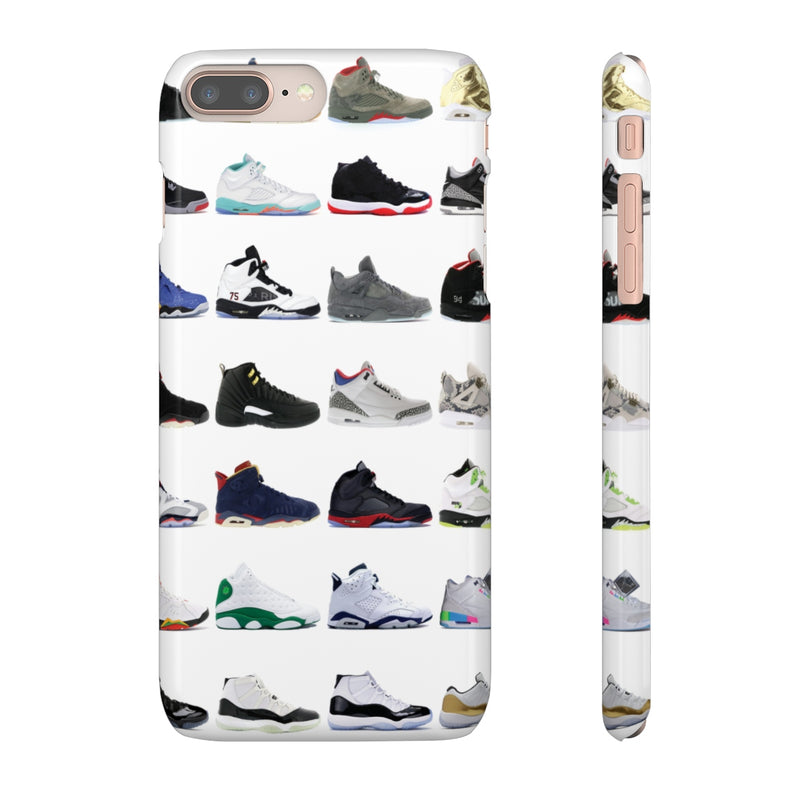 Jordan Sneakers inspired iPhone Snap Case-iPhone 8 Plus-Glossy-Archethype