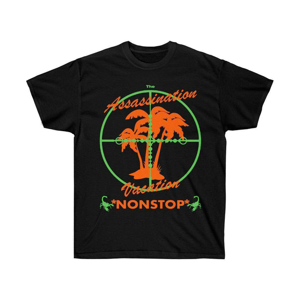 Assassination Vacation Tour Drake merch inspired - Unisex Ultra Cotton Tee-Black-S-Archethype