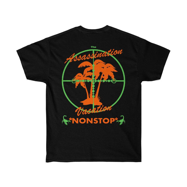 Assassination Vacation Tour Drake merch inspired - Unisex Ultra Cotton Tee-Black-L-Archethype