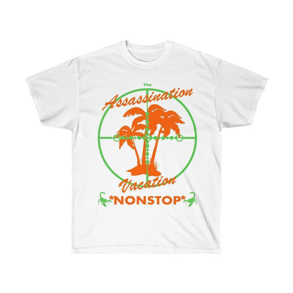Assassination Vacation Tour Drake merch inspired - Unisex Ultra Cotton Tee-White-L-Archethype