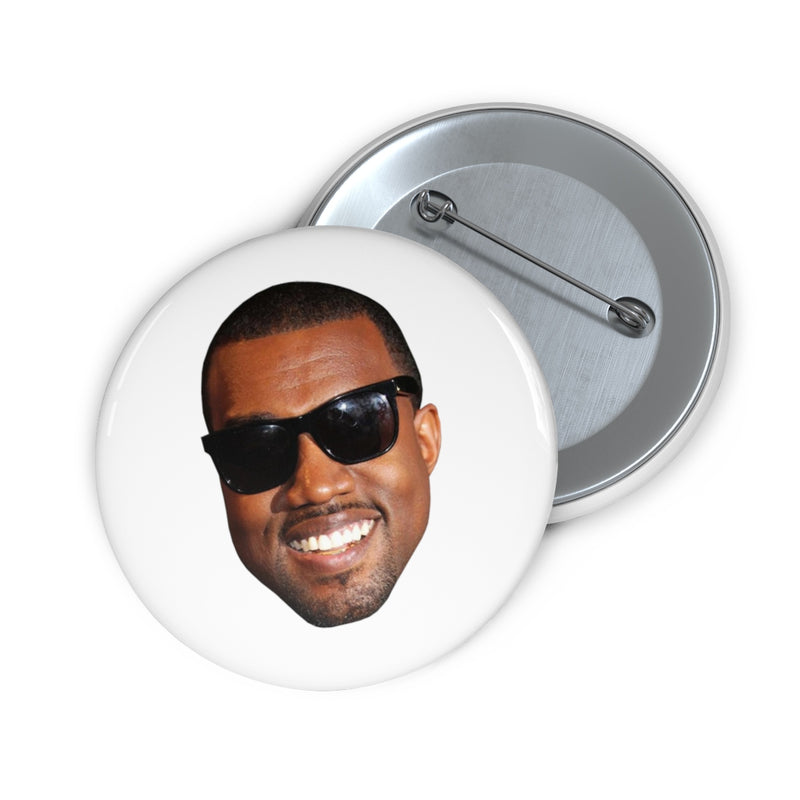 "Kanye West Meme Face Funny face Pin Buttons-2""-Archethype"