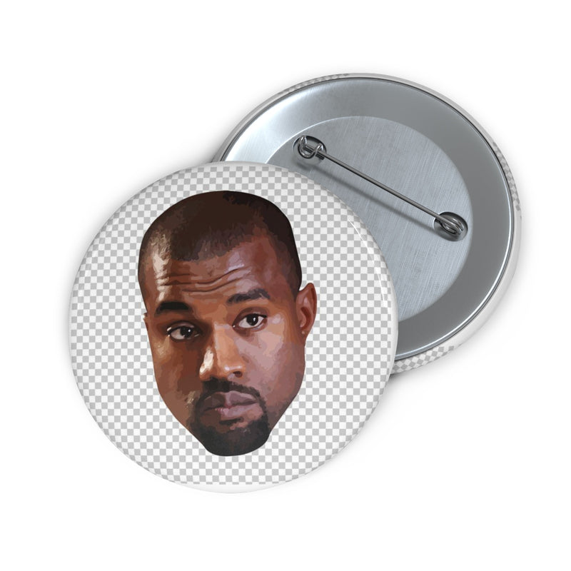 "Kanye West Meme Face Pin Buttons-2""-Archethype"