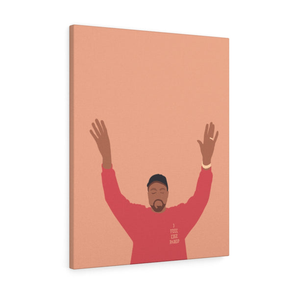 Kanye West I Feel Like Pablo Canvas Gallery Wraps - The Life of Pablo TLOP tour merch inspired-24″ × 30″-Premium Gallery Wraps (1.25″)-Archethype