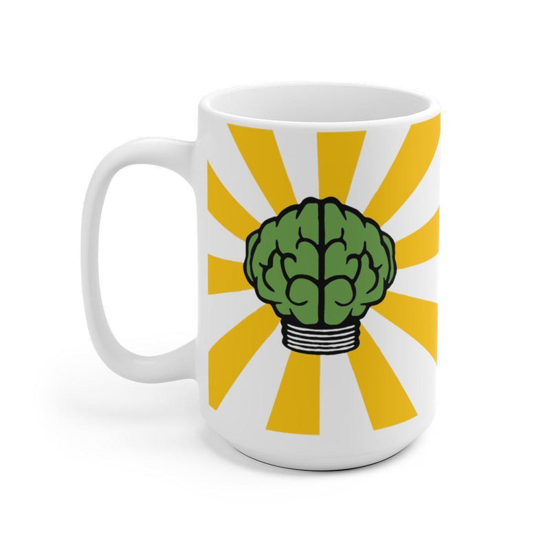 Brain Mug - N*E*R*D Pharrell Williams in search of... Inspired-15oz-Archethype