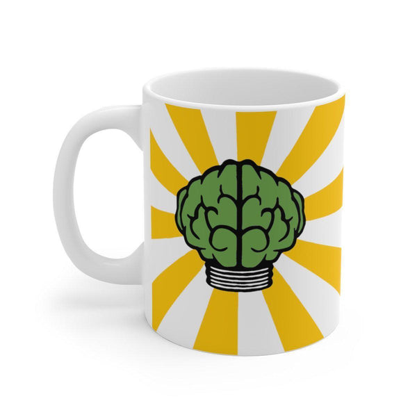 Brain Mug - N*E*R*D Pharrell Williams in search of... Inspired-11oz-Archethype