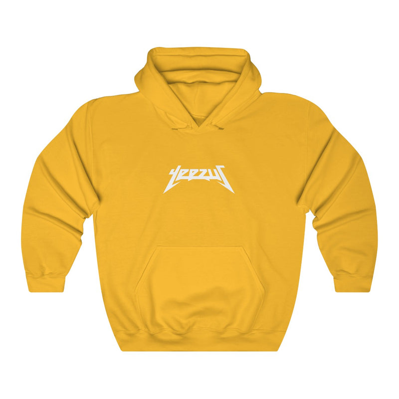 Yeezus Unisex Heavy Blend Hooded Sweatshirt-Gold-S-Archethype