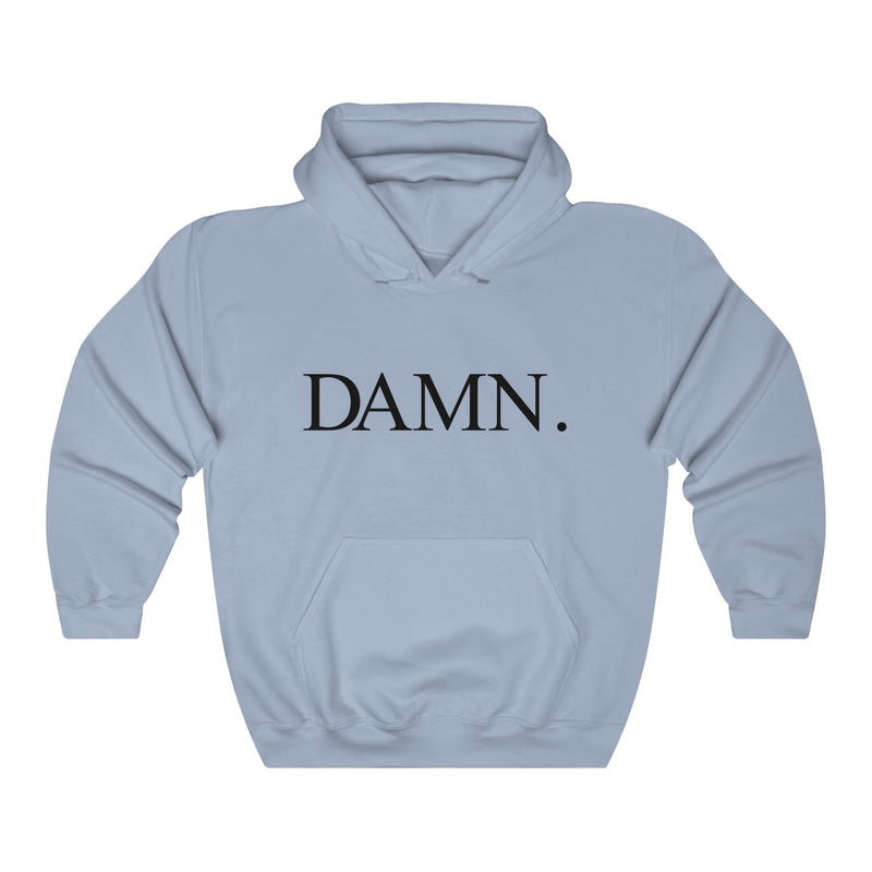 Kendrick Lamar DAMN Inspired - Heavy Blend Hoodie-Light Blue-S-Archethype